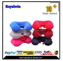 Cheap Price Promotional inflatable neck pillow for travel,meditation cushion,travel neck pillow