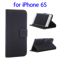 Cheap Price Retro Style Leather Cover Case for iPhone 6S
