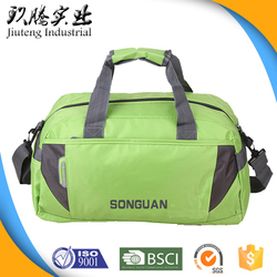 Fashion Foilding Nylon Gym Sack Tote Travel Golf Bag with Long Strap