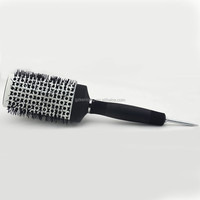 Professional cheap price salon ceramic round hair brush metal pins