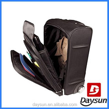 Travel wheeled laptop bag rolling laptop bags with trolley strap