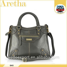 new products women leather handbag/big fashion leather bags women