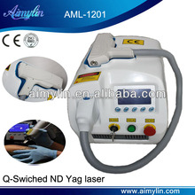 Q-Switched ND YAG laser tattoo removal