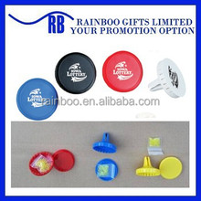 Promotional cheap plastic Various Scents Car air freshener with clip
