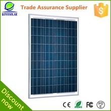 High efficiency sunpower solar panel monocrystalline for air conditioner