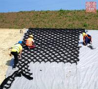 HDPE slope protection mat stabilisateur de gravier