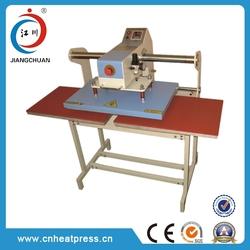 Pneumatic heat transfer machine t-shirt heat press printing machine heat press transfer printing