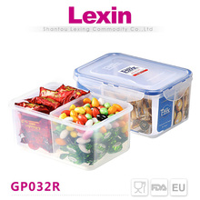 food packaging plastic food container for food with dividers