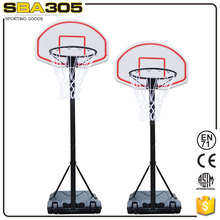 movable portable basketball pole stand