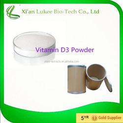 Health and medical product Pharma Grade Vitamin D3/ Vitamin D3 Crystal Powder