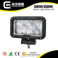 60W Multivoltage auto parts led working lamp LED driving light