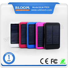 5000mah 2015 OEM/Private Waterproof Portable solar mobile phone charger