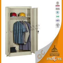 Bedroom Furniture Customized Modern Closet / Stainless Steel Corner Cabinets