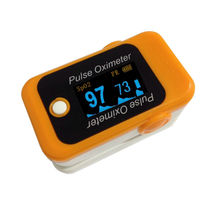 Handheld color OLED pulse oximeter connect computer