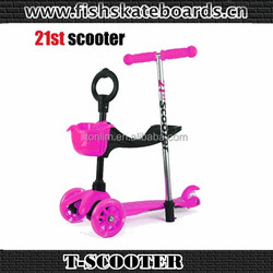 mini micro 21st scooter plastic three wheel for wholesale cheap kick scooter