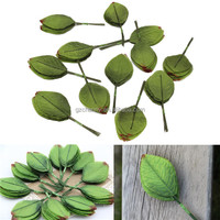 Modern Design The Best Price 144Pcs Artificial Leaf Green Leaves Bouquets Garland Wreath Home Garden Decor