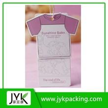 New Design Kids Clothing Hang tag Made in China