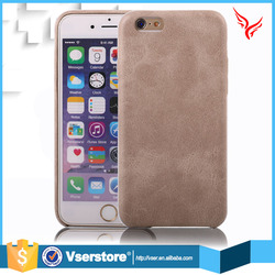 High qualiy smooth ultra thin leather case cover for iphone 6