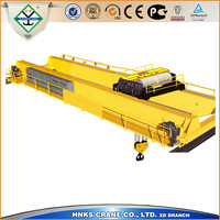 2015 New workshop 10 ton double girder overhead crane price