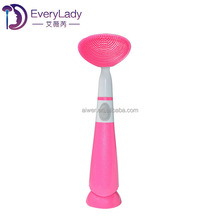 New style silicone deep cleaning electric face brush
