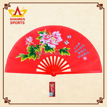 Chinese best seller gift boutique cloth folding fan for gift