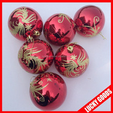 Outdoor and indoor christmas ornament christmas ball for decoration