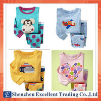 Colorful Design and Various Styles Baby Pajamas Suits