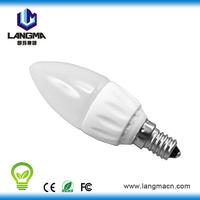 e12 candelabra led bulb AC COB 2700-5000k mini bulbs