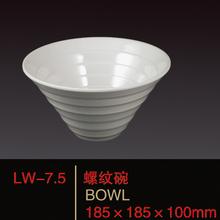 2014 nuevo diseño de melamina tazón de sopa