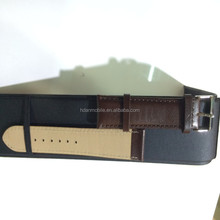 Genuine leather classic watch band for Apple watch 38MM,leather watch strap