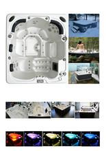 sexy caliente baño de tina de pequeño tamaño rectangular bañeras de agua caliente