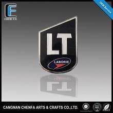 Manufacturer outdoor acrylic chrome car wheel center cap emblems