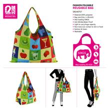 420d Polyester Ball Bags Reusable Polyester Shopping Bags