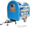 CUSTOMIZED service CE approval fast food car hot dog vending carts concession trailer