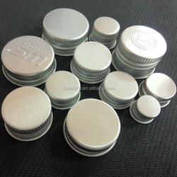 metal tin screw top/aluminum screw cap