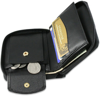 2015 New style genuine leather men wallet wholesale Hot sale bifold mens wallet Factory supplier of men wallet wholesale