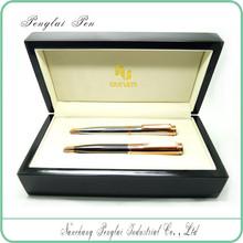 Luxury Wholesale gift box promotional metal ballpen popular item gift pen set for stationery