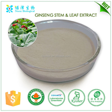 Original panax ginseng leaf extract,ginseng leaf and stem extract powder for health and energy