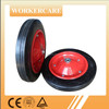 "13""x3"" wheel barrow solid rubber tire"