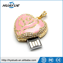 2015/2016 sweet heart jewerly high speed USB 3.0 Flash Stick/Drive