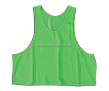 Factory Directly sell new style mixed colour mesh soccer training vests
