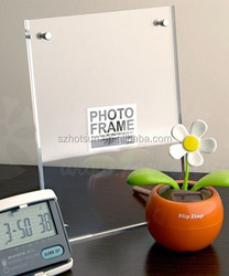 MA185 Tabletop free standing acrylic photo frame