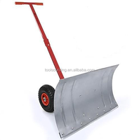Mini metal push snow shovel