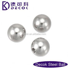 High quality chrome and carbon steel balls/chrome steel balls