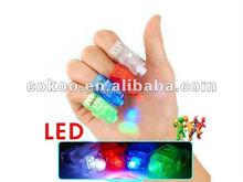 100 pcs/lot led finger light 4 color laser finger lamp light for party birthday Chistmas decoration toy