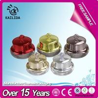Royal Rose Flower Acrylic Cosmetic Plastic Cream Jar