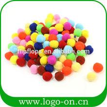 artículos de fiesta de la felpa pompones de colores de la mezcla pompones