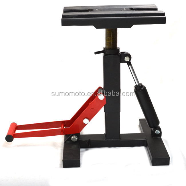 Hydraulic Motorcycle Stand : Cheap adjustable damping lift mx hydraulic moto stand dirt