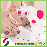 High efficiency value of white sewing machine