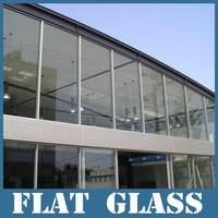 5mm + 0.38/0.76/1.52 + 5mm safety tempered laminated glass, tempered glass, decorative glass, China
